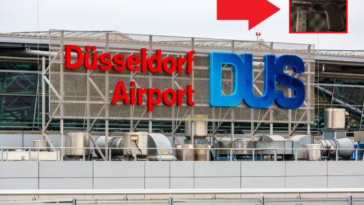Am Flughafen Düsseldorf wurde eine Frau mit einer Schusswaffe erwischt.