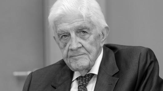 Burkhard Hirsch ist tot.