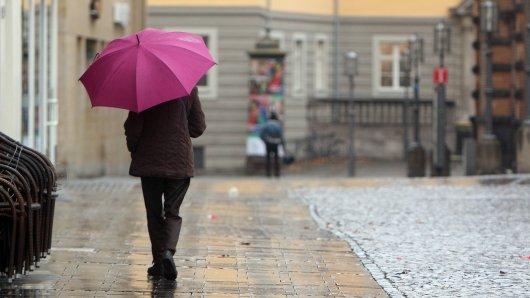 Am Sonntag zeigte sich das Wetter in NRW von seiner unfreundlichen Seite.