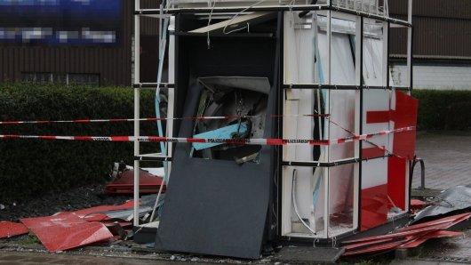 In NRW wurden mehrere Geldautomaten gesprengt.
