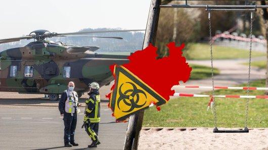 Die Luftwaffe hat mehrere Patienten nach NRW eingeflogen. In einer Kita in Köln wurden vorsorglich 100 Kinder in Isolation geschickt.