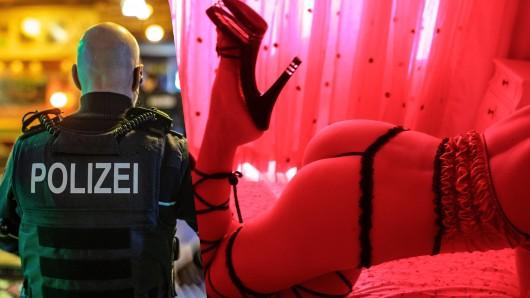 Corona in Düsseldorf: Die Polizei hat ein Hotel hochgenommen.
