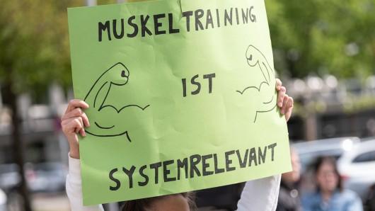 Ein Fitnessstudio in NRW darf wieder öffnen.