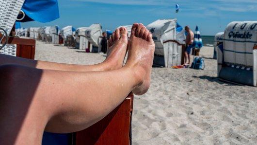 NRW: Für eine Frau aus Düsseldorf ging es an der Ostsee ins Krankenhaus. (Symbolbild)