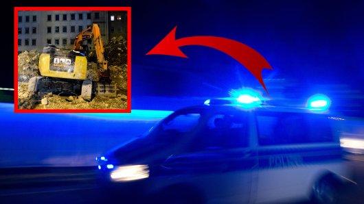 NRW: Auf einer Baustelle in Unna spielten sich nachts wilde Szenen ab. (Symbolbild)