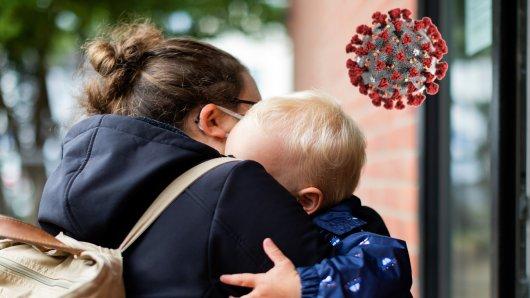 NRW: In einem Kindergarten in Bielefeld ist ein Kind an Covid-19 erkrankt. (Symbolbild)