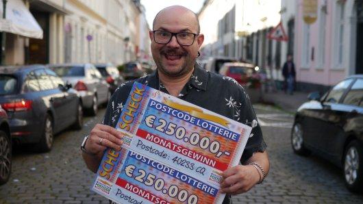 Der Düsseldorfer Alex Vegara Lopez ist seit Samstag eine halbe Millionen Euro reicher.