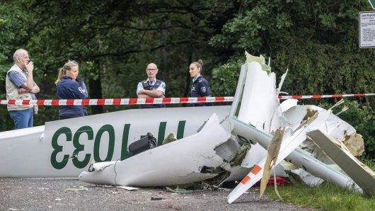 Schreckliches Unglück in Dülmen (NRW)! Dort sind nach Informationen des WDR zwei Flugzeuge in der Luft zusammengestoßen.