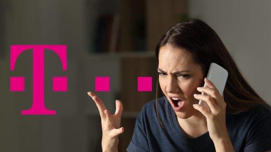 Telekom: Eine Kundin regte nach einem Telefonat mit dem Kundenservice massiv auf. (Symbolbild)