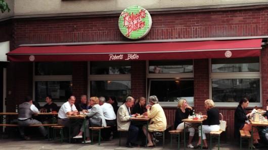 """Ein absolutes Kult-Restaurant am Hafen: Das """"Roberts Bistro"""" in Düsseldorf. (Archivfoto)"""