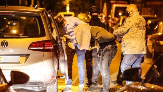 NRW: Im Juli 2020 nahm die Polizei fünf Clan-Mitglieder fest.