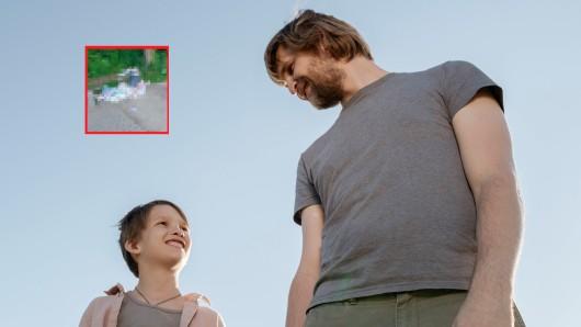 Ein Familienvater ist mit seiner Tochter in Bottrop auf dem Weg zum Spielplatz gewesen – plötzlich sieht er das! (Symbolfoto)