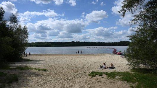 Der Silbersee in Haltern (NRW) ist gerade im Sommer ein äußerst beliebtes Ausflugsziel. (Symbolfoto)