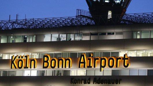 Am Flughafen Köln/Bonn kam es zu einem unschönen Zwischenfall.