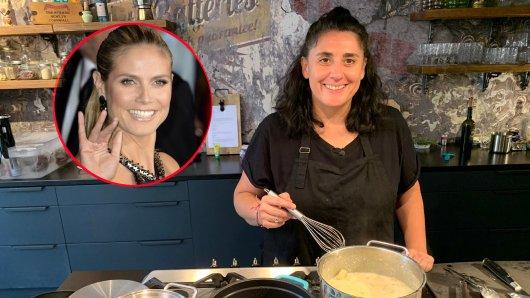 """""""Das perfekte Dinner""""-Kandidatin Anne-Kathrin wohnt mit Heidi Klum zusammen."""