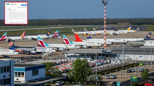 Eine Passagierin berichtet auf Facebook von einem unfassbaren Vorfall am Flughafen Düsseldorf. (Symbolfoto)