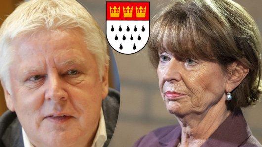 Duell in Köln zwischen OB Henriette Reker (parteilos) und Andreas Kossiski (SPD)