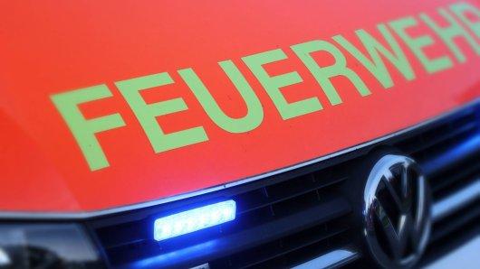 A52: Die Feuerwehr ist vor Ort.
