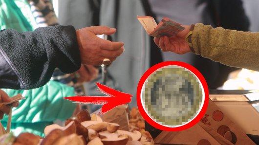 Euro: Eine Frau bekam eine seltsame Münze auf einem Wochenmarkt in NRW als Wechselgeld. (Symbolbild)