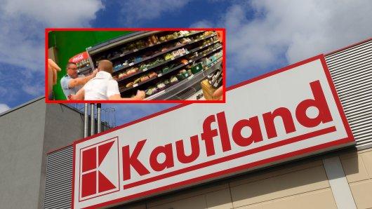 In einem Kaufland-Supermarkt in Troisdorf kam es im Mai zu dem Angriff auf zwei Polizisten.