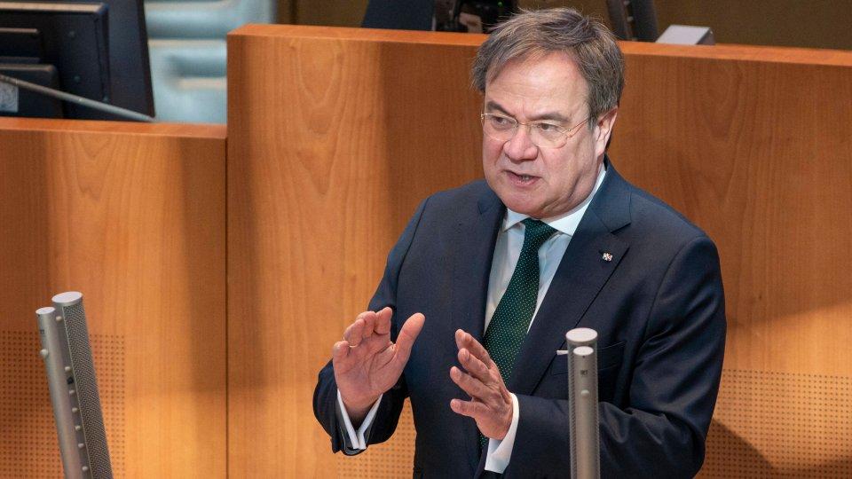 Armin Laschet im NRW-Landtag (Archivbild).