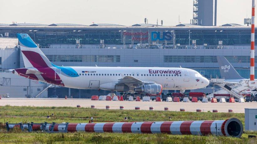 Flughafen Düsseldorf: Flugzeug landet – kurz darauf geht es wegen IHR drunter und drüber