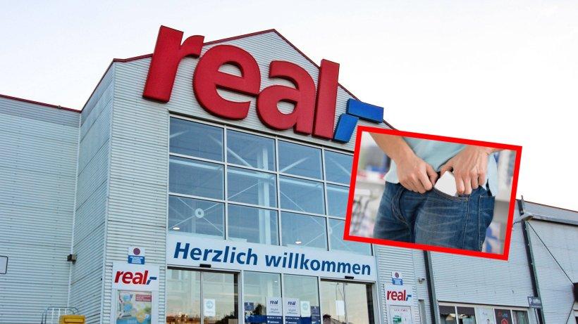 Real in NRW: Dreimal in einer Woche! Ladendieb schlägt immer in der selben Filiale zu