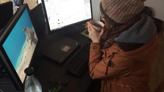 NRW: Ist dir auch ständig kalt, wenn du im Homeoffice arbeitest?