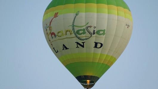 Wann steigt endlich wieder der Phantasialand-Heißluftballon auf? (Archivfoto)