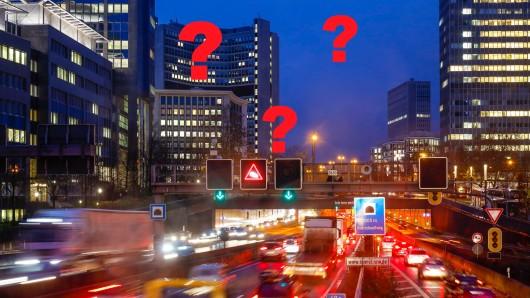 Zig Menschen aus dem Ruhrgebiet verlassen in der Corona-Pandemie die Revierstädte. Sie haben dabei nur ein Ziel. (Symbolbild A40)