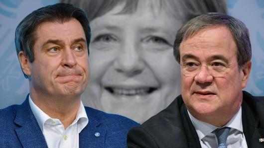 Wer wird Kanzlerkandidat der Union – Markus Söder oder Armin Laschet?