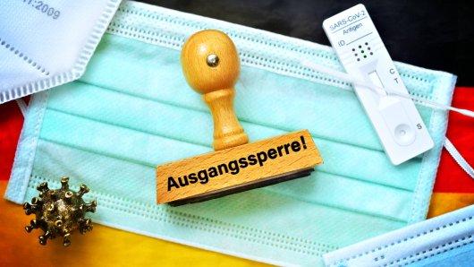 Ausgangssperren in NRW sollen einen Zweck erfüllen. (Symbolbild)