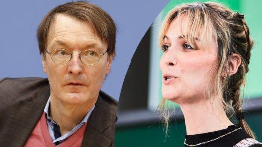 Treten bei der Bundestagswahl gegeneinander an: Nyke Slawik (Grüne) und Karl Lauterbach (SPD).