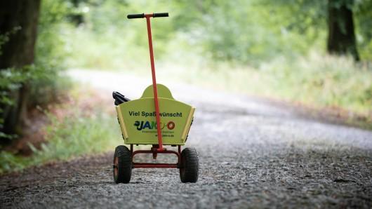 NRW: Ein 11-Jähriger aus Bergkamen machte bei einer Schatzsuche im Wald eine erschreckende Entdeckung. (Symbolbild)