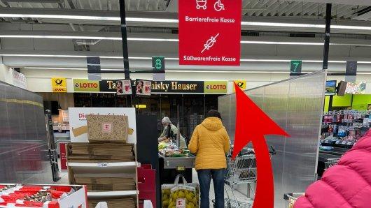 Ein Kunde aus Soest machte an einer Kaufland-Kasse eine Beobachtung, die er so nicht erwartet hätte.
