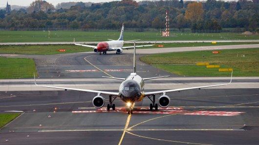 """Die neue Airline """"Lalona Air"""" sollte eigentlich ab Januar 2022 den Flughafen Düsseldorf bereichern. Daraus könnte aber nichts werden. (Symbolfoto)"""