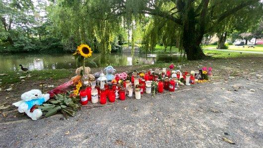 Der Leichenfundort in Hamm. Die Trauer um die junge Frau ist groß.
