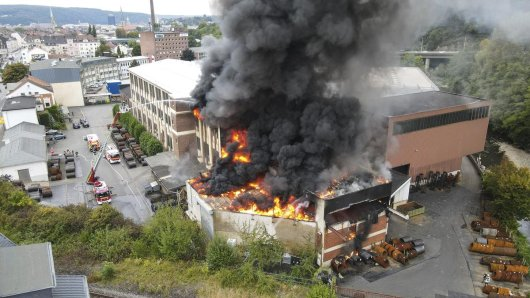Großbrand in Hagen!