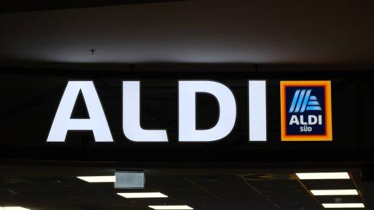 Diebstahl bei einer Aldi-Filiale in NRW. (Symbolbild)