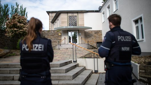 Im September vereitelte die Polizei einen Anschlag auf die Hagener Synagoge.