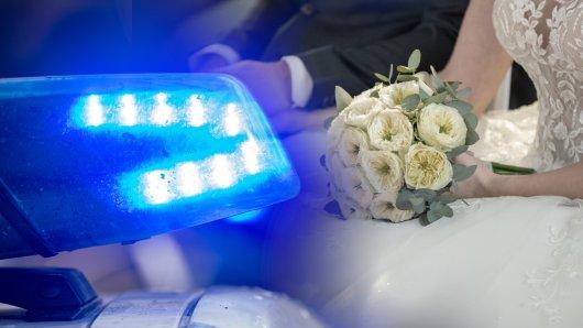 Polizei-Ärger auf einer Hochzeit in NRW. (Symbolbild)