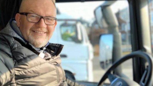 Jörg Schwerdtfeger aus Herford (NRW) war 17 Jahre lang Lkw-Fahrer und setzt sich auch heute noch für das Image seiner Branche ein.