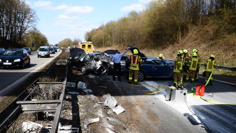 A52 Unfall