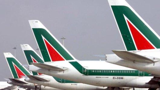 Am 12. Dezember sollen für vier Stunden auch die Flugzeuge der Alitalia am Boden bleiben.
