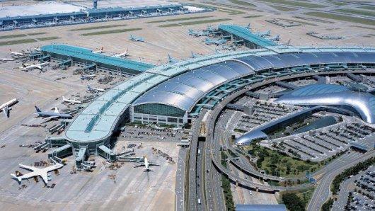 Liegt beim Service ganz vorne: Der Flughafen Incheon in Seoul in Südkorea.