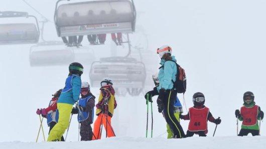 Die Wintersportsaison auf dem Feldberg läuft voraussichtlich noch bis zum 3. April.