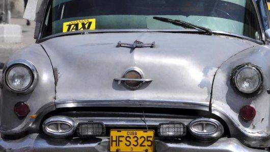 Nahverkehr auf Kuba: Gut ist es, wenn eine seriöse Unterkunft vor Ort bestimmte Taxis empfehlen kann.