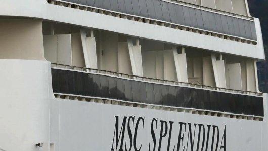 Die MSC Splendidafährt ab Mai 2018 China an.
