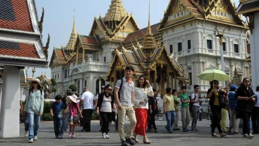 Beliebte Touristenattraktion in Bangkok: Der Königspalast.