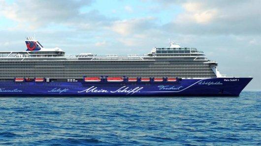 MeinSchiff 1 heißt der Neubau von Tui Cruises, der 2018 fertig sein soll. Dann geht es zunächst ab Kiel auf Kreuzfahrten in den Norden - Richtung Baltikum und nach Südnorwegen. Animation:TuiCruises